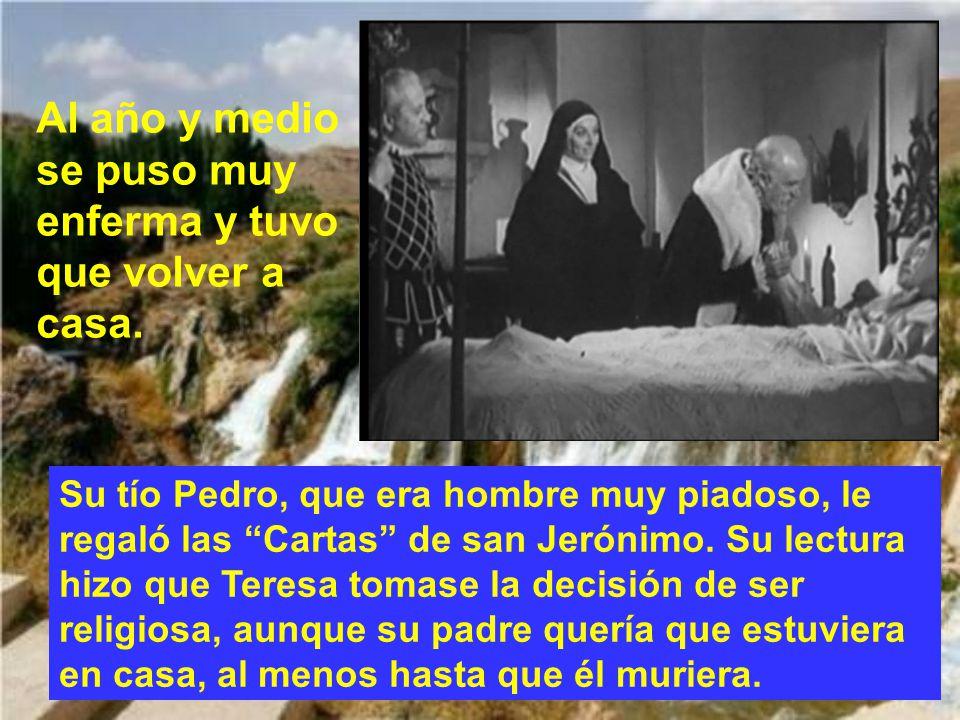 Que la Virgen del Carmen, a quien amó tan tiernamente santa Teresa, nos proteja bajo su manto. AMÉN