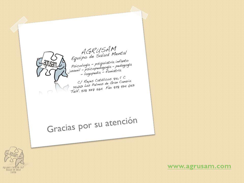 www.agrusam.com Gracias por su atención