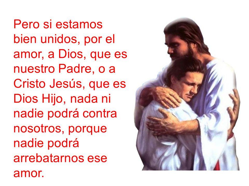 Si no estamos bien aferrados a Cristo, es muy fácil que las dificultades de la vida puedan contra nosotros.