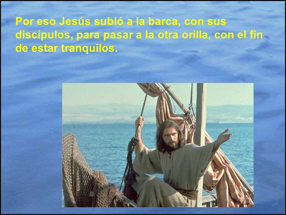 A Jesús le contaron lo de la muerte de Juan Bautista. Le tuvo que impactar muchísimo. Eran tiempos difíciles y era mejor retirarse de esa región. Por
