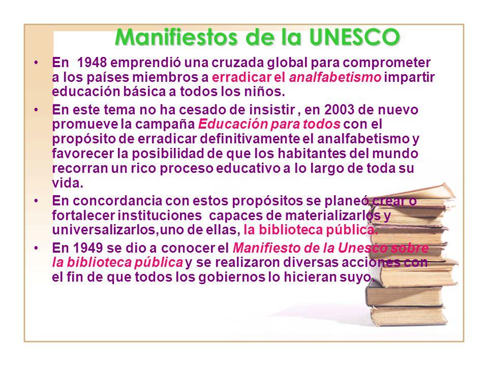 En 1948 emprendió una cruzada global para comprometer a los países miembros a erradicar el analfabetismo impartir educación básica a todos los niños.