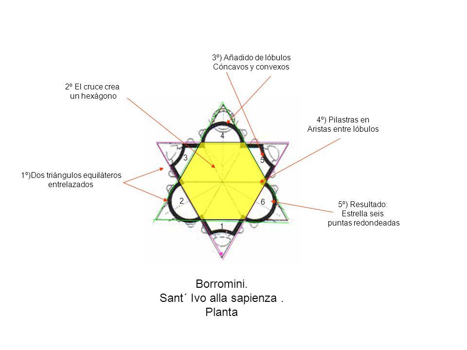 Borromini.Sant´ Ivo alla sapienza.