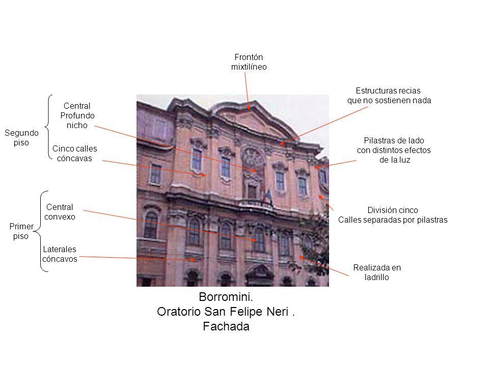 Borromini.Oratorio San Felipe Neri.