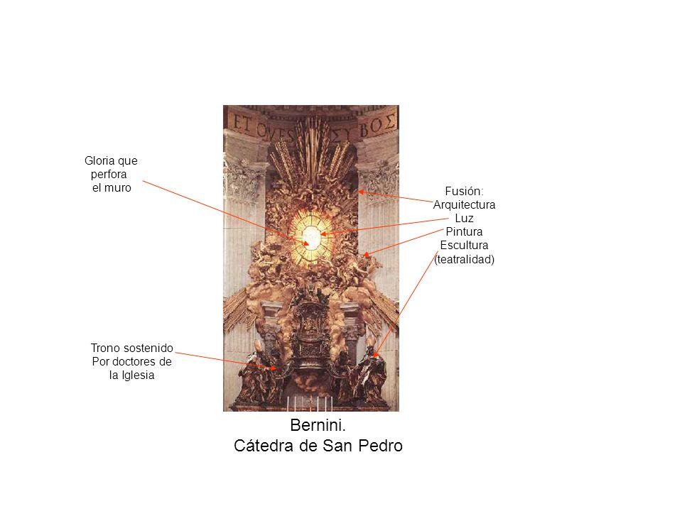 Bernini.San Andrea al Quirinale. Planta Claridad compositiva Respeta proporciones Y reglas.