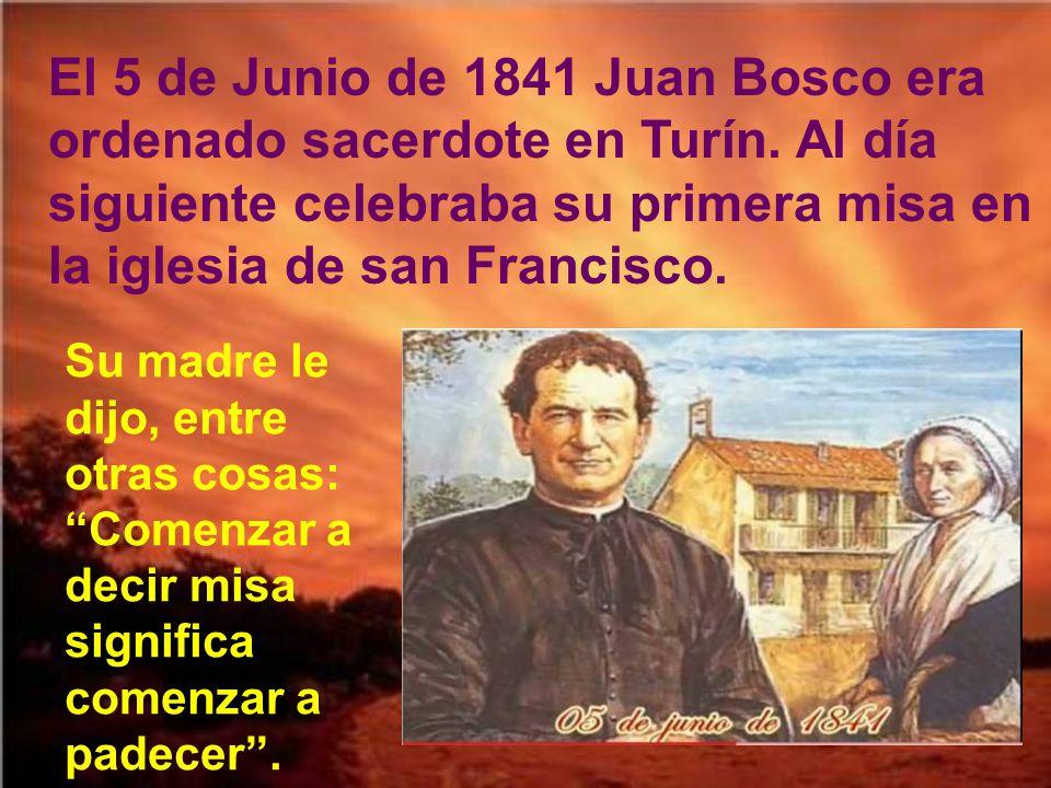 Siendo seminarista, Juan Bosco, con la aprobación de los superiores, comenzó los domingos a reunir un grupo de chiquillos, niños y jovencitos, abandonados de Turín.