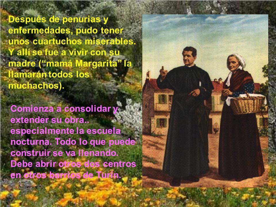 El problema estaba en que don Bosco, al no tener ni casa ni terrenos, tenía sus oratorios en terrenos de la marquesa.