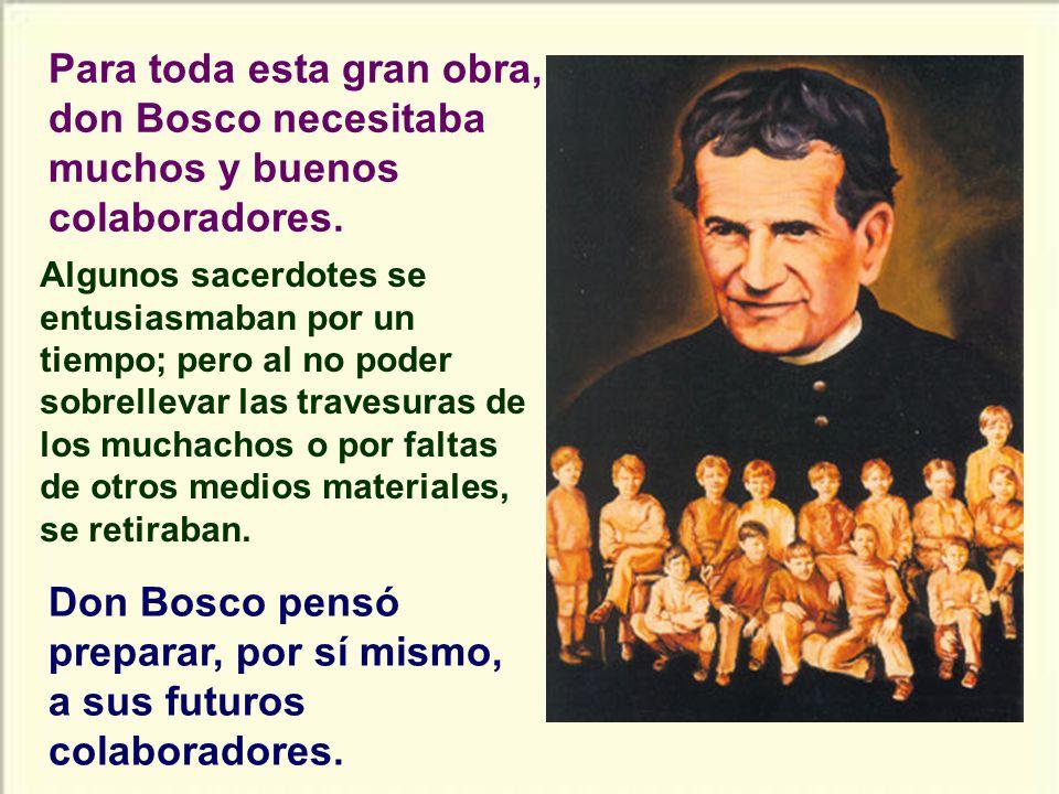 Otra gran actividad de don Bosco fue la de escribir libros para el gusto popular.