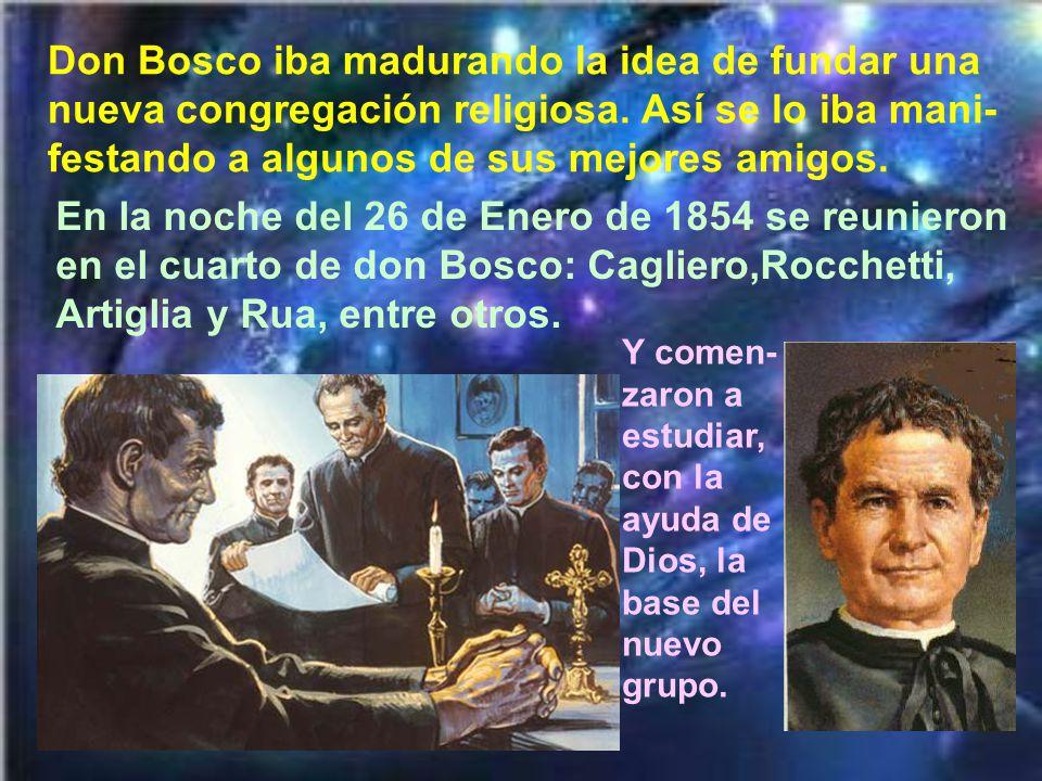Entre todos los mucha- chos en quienes podía poner su esperanza don Bosco, estaba en primer lugar Domingo Savio.