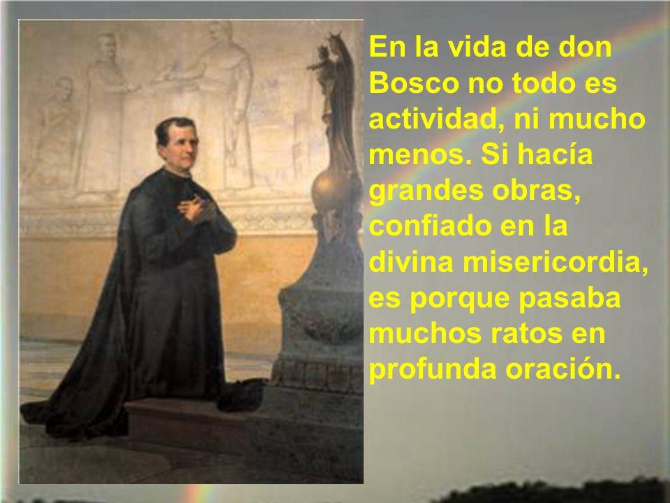 Y completó su obra don Bosco, organi- zando a sus numero- sos colaboradores, hombres y mujeres de todas clases sociales, en una especie de tercera orden con el título de Colaboradores Salesianos.