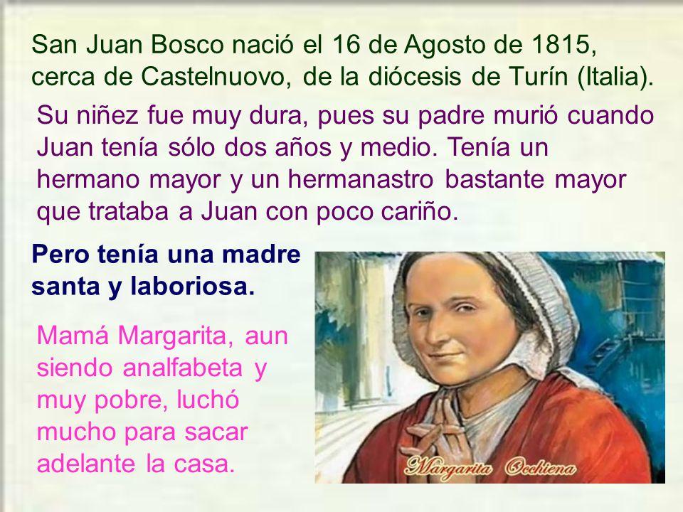 Característico en don Bosco es la ALEGRÍA.