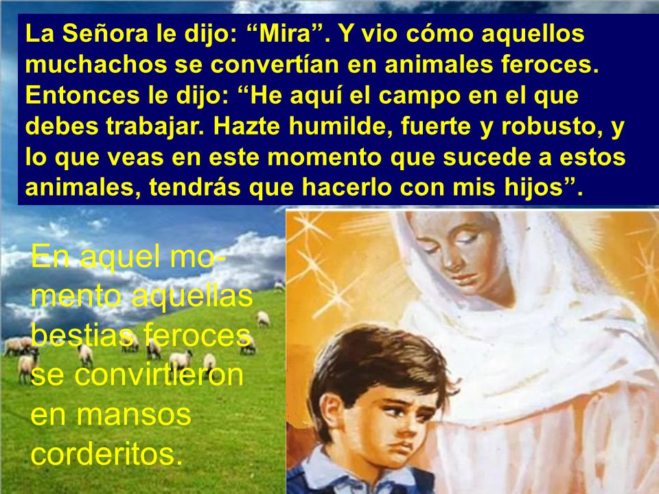 Juan ya era don Bosco.