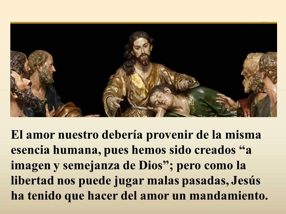Si Dios es amor, no puede hacer otra cosa que amar.