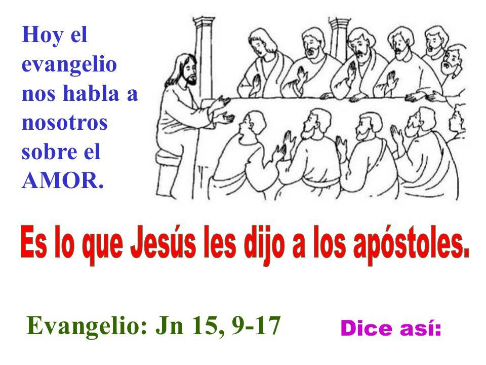 Estaba Jesús con los apóstoles en la Ultima Cena.