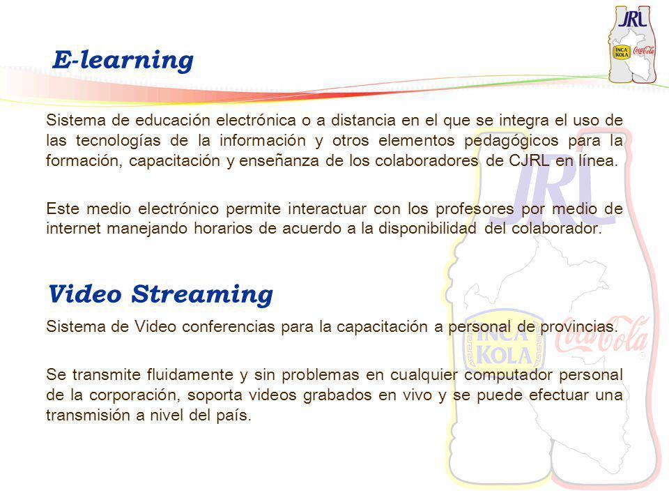 E-learning Sistema de educación electrónica o a distancia en el que se integra el uso de las tecnologías de la información y otros elementos pedagógic