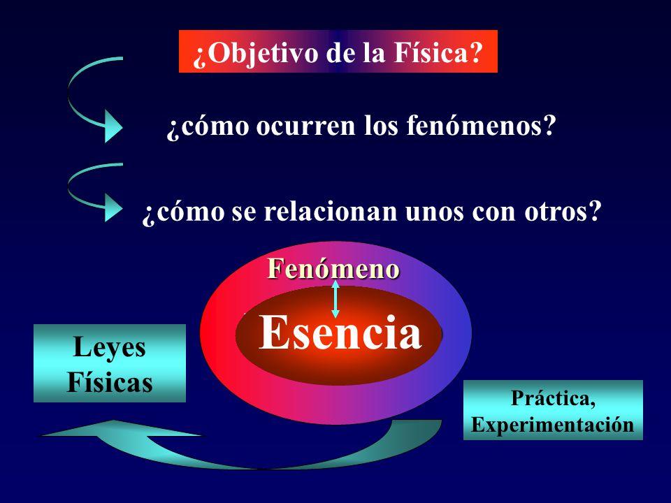 Base Conceptual Principios y Leyes Universo Físico Modelos Métodos Métodos teórico y experimental Carácter Científico FÍSICA