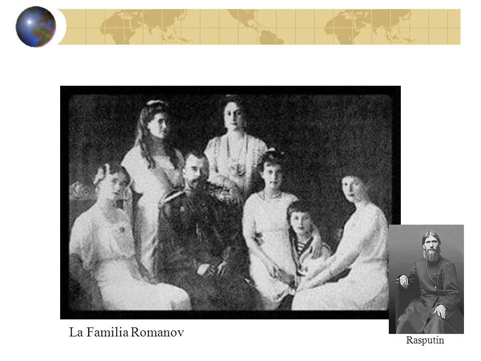 La Familia Romanov Rasputin