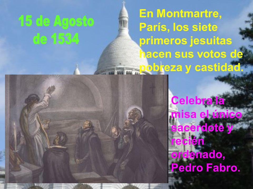 Francisco se pone incondicionalmente en manos de Ignacio de Loyola. Bajo su dirección, durante 40 días, hace los ejercicios espirituales.