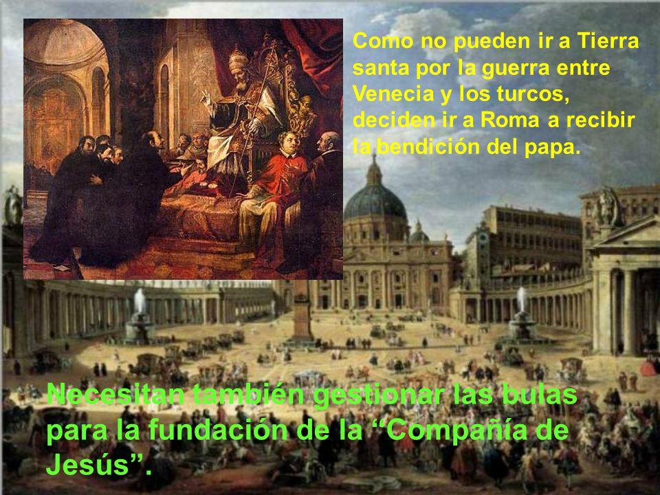 En Venecia san Francisco Javier, con san Ignacio y algunos otros, recibe la ordenación sacerdotal.