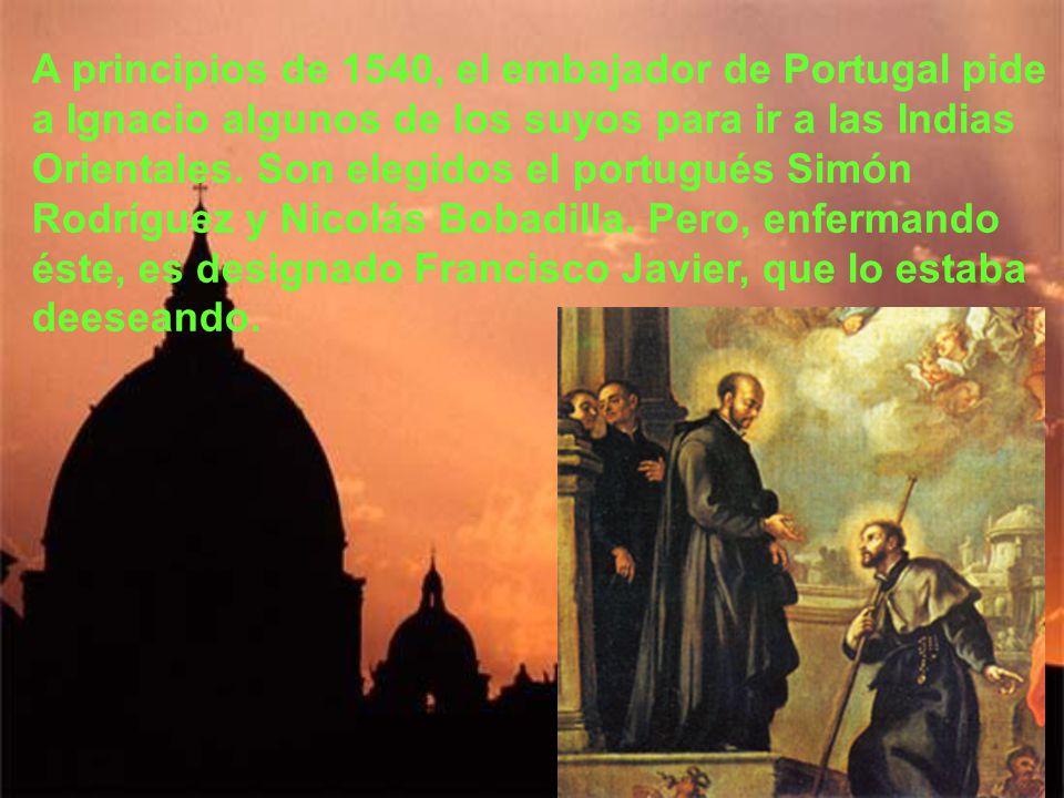 Unos meses después se reúnen en Roma para presentar las constituciones al papa y ponerse a sus órdenes directas. Por ahora seguirán evangelizando en R