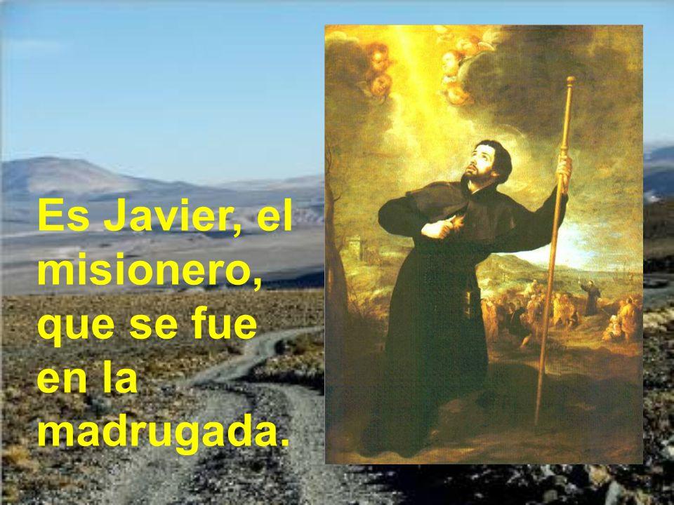 Es Javier el que se ha muerto de repente en la mañana;