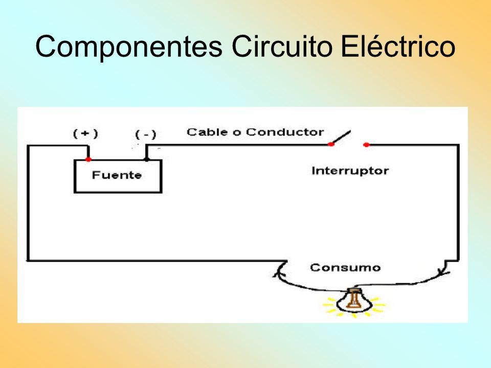 Componentes Circuito Eléctrico