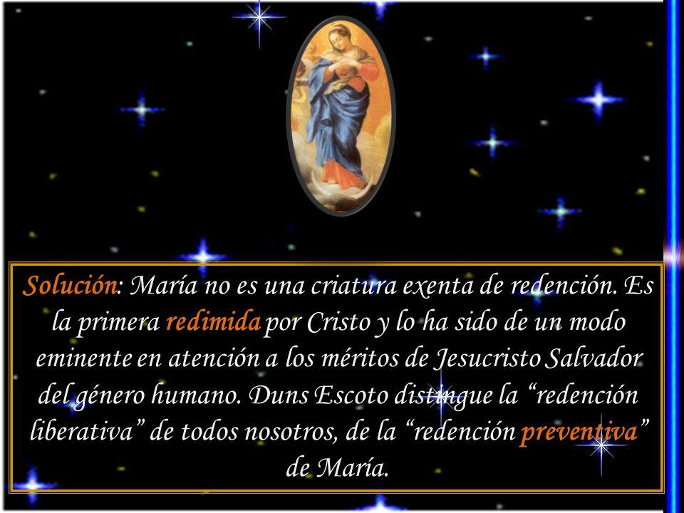 La doctrina de la Inmaculada encontró cierta resistencia en Occidente. Hubo santos, como Agustín, Bernardo, Alberto Magno, Buenaventura y Tomás de Aqu