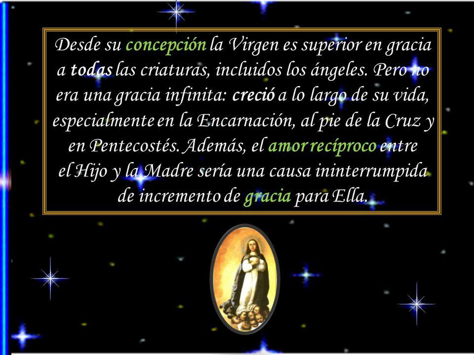 Privilegios incluidos en la plenitud de gracia, 2 La Virgen María estuvo sujeta al dolor. Santísima, sin sombra de pecado, pero pasible y mortal, part