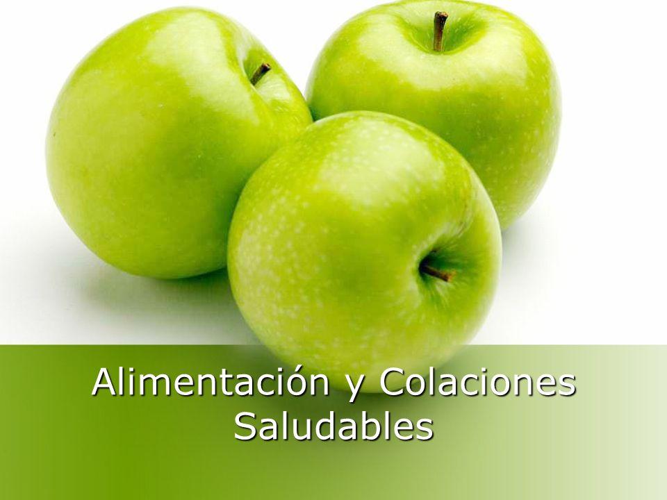 Alimentación y Colaciones Saludables