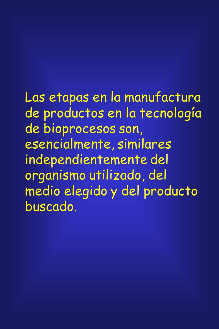 TECNOLOGIA DE BIOPROCESOS - FERMENTACION