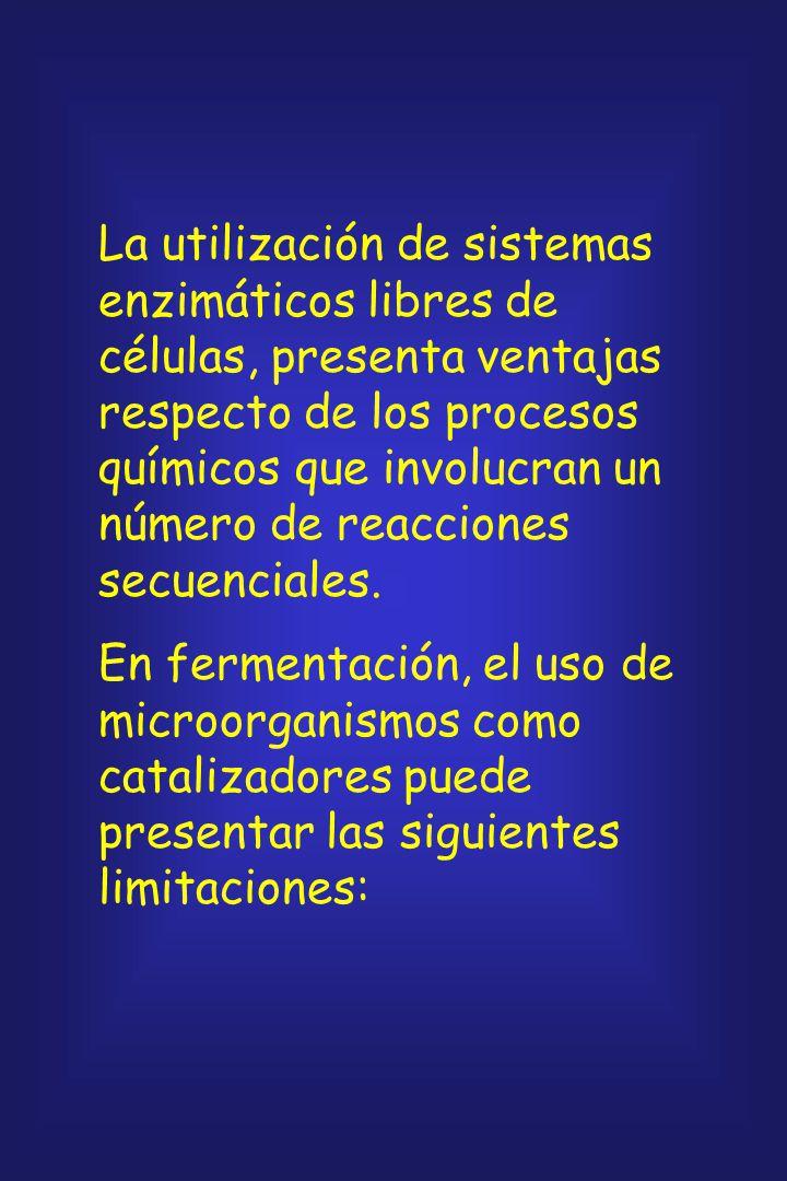 La tecnología de enzimas involucra la producción, aislamiento, purificación, uso en forma soluble y, finalmente, la inmovilización de las enzimas para
