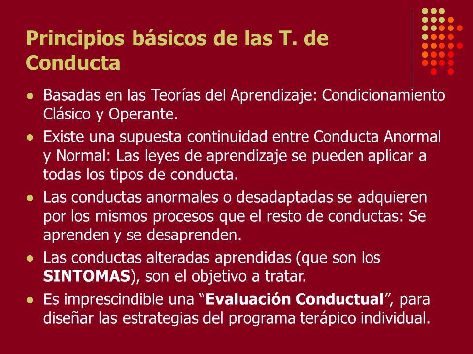 Principios básicos de las T.