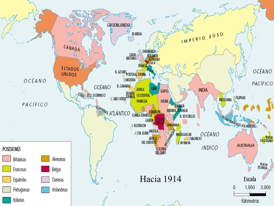 Hacia 1914