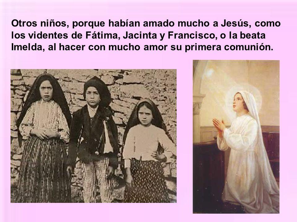 Hay santos que han muerto cuando todavía eran unos niños. Algunos porque dieron su vida libremente por Jesucristo muriendo mártires, como san Tarsicio