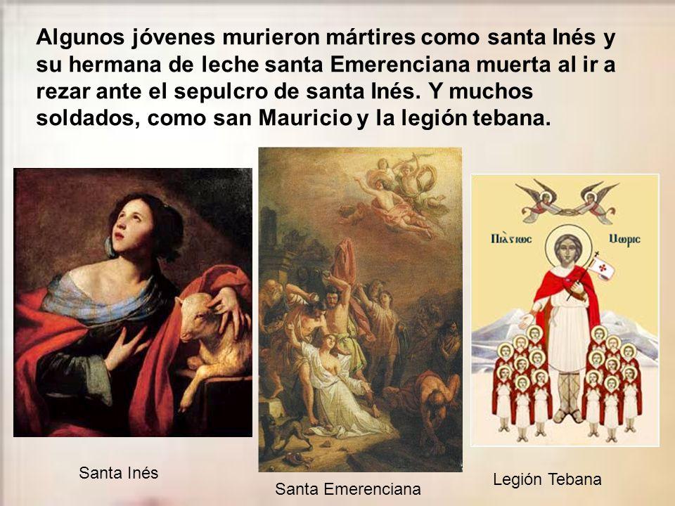 Algunos, sin ser mártires, se hicieron santos en el cumplimiento diario y su ofrenda a Dios en la enfermedad, como la beata Laura Vicuña y santo Domin