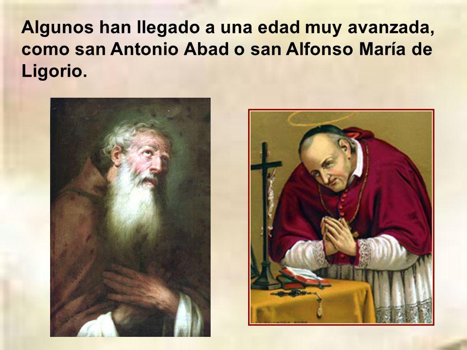 Otros muchos han muerto en edad juvenil después de una vida santa, como san Gabriel de la Dolorosa, santa Gema Galgani o san Luis Gonzaga. San Gabriel
