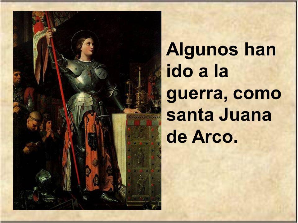 Algunos han sido buenos escritores y poetas, como santa Teresa de Ávila. Otros han dejado su santidad reflejada en muchas obras de arte, como el beato