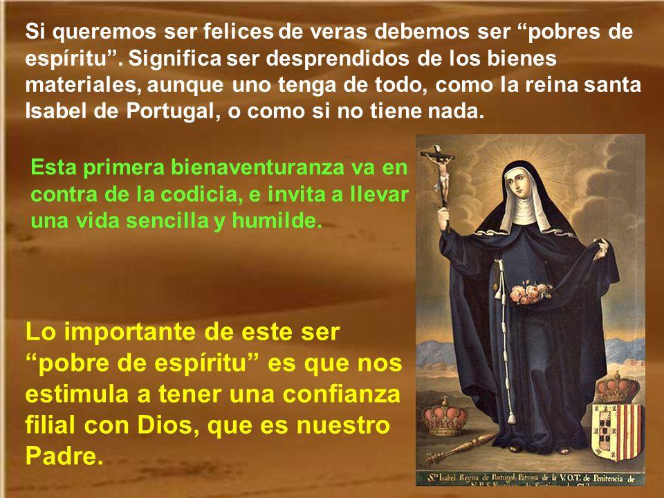 Lo primero que nos dice Jesús es que la santidad no es un camino triste, sino muy gozoso. Los santos son las personas que mejor han expresado la verda