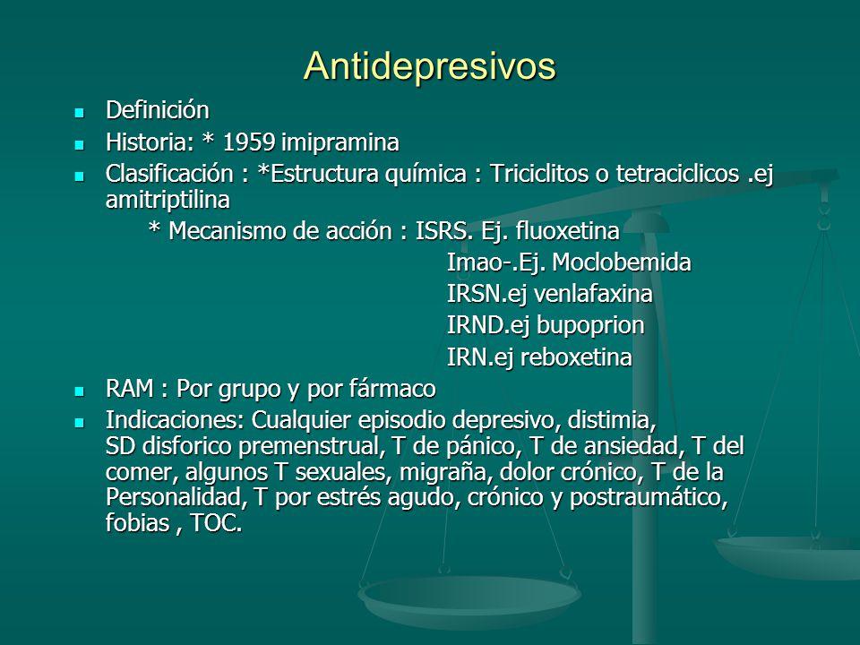 Tipo de efectos adversos. Anticolinergicos Anticolinergicos Neurológicos:_extrapiramidales Neurológicos:_extrapiramidales _sedacion _sedacion _convuls