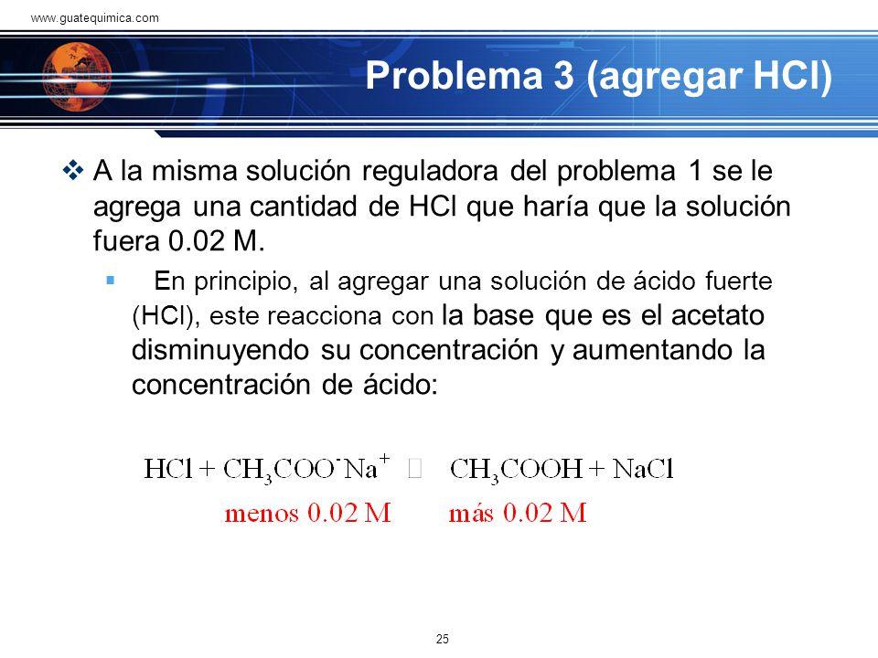 En vista de lo anterior, hay que modificar la ecuación ya que se consume la concentración de ácido acético (indicado con el signo negativo) y aumenta