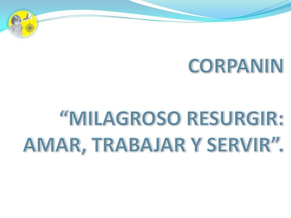 VISIÓN En el 2010 CORPANIN será una institución defensora de los derechos de los niños y jóvenes en situación de discapacidad, en pro de mejorar su calidad de vida.
