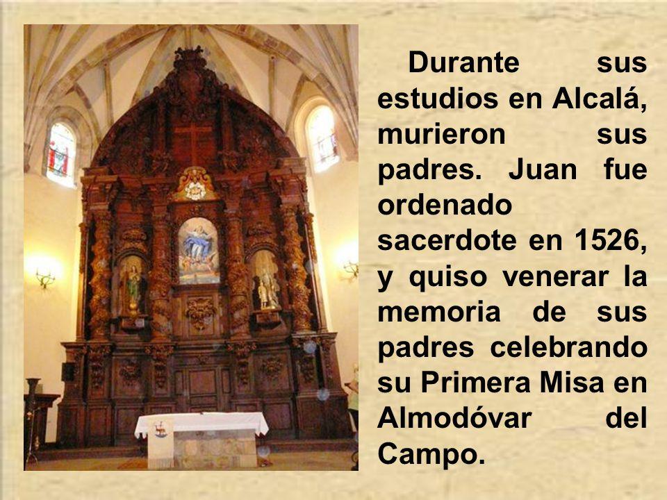 En Alcalá estuvo en contacto con las grandes corrientes de reforma del momento.