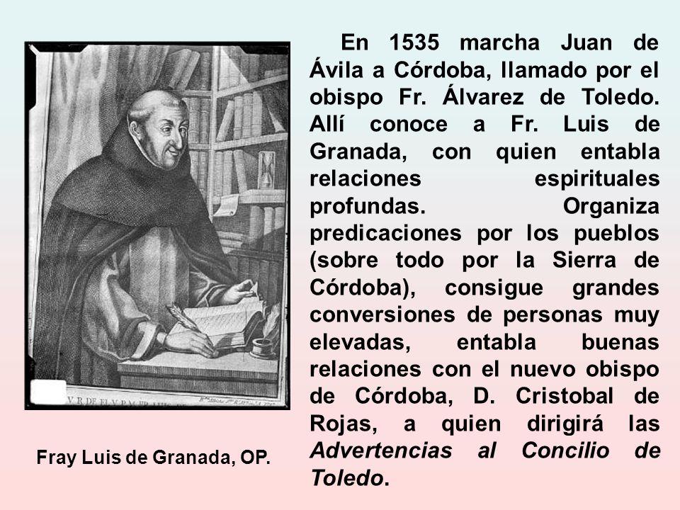Este tiempo en la cárcel produjo sus frutos interiores, al igual que lo hiciera con san Juan de la Cruz.