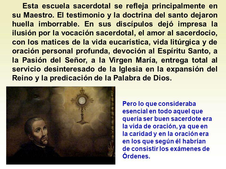 El grupo sacerdotal de Juan de Ávila parece que se estructura en Granada hacia el año 1537, aunque ya antes se habían hecho discípulos suyos algunos sacerdotes de Sevilla, Écija y Córdoba.