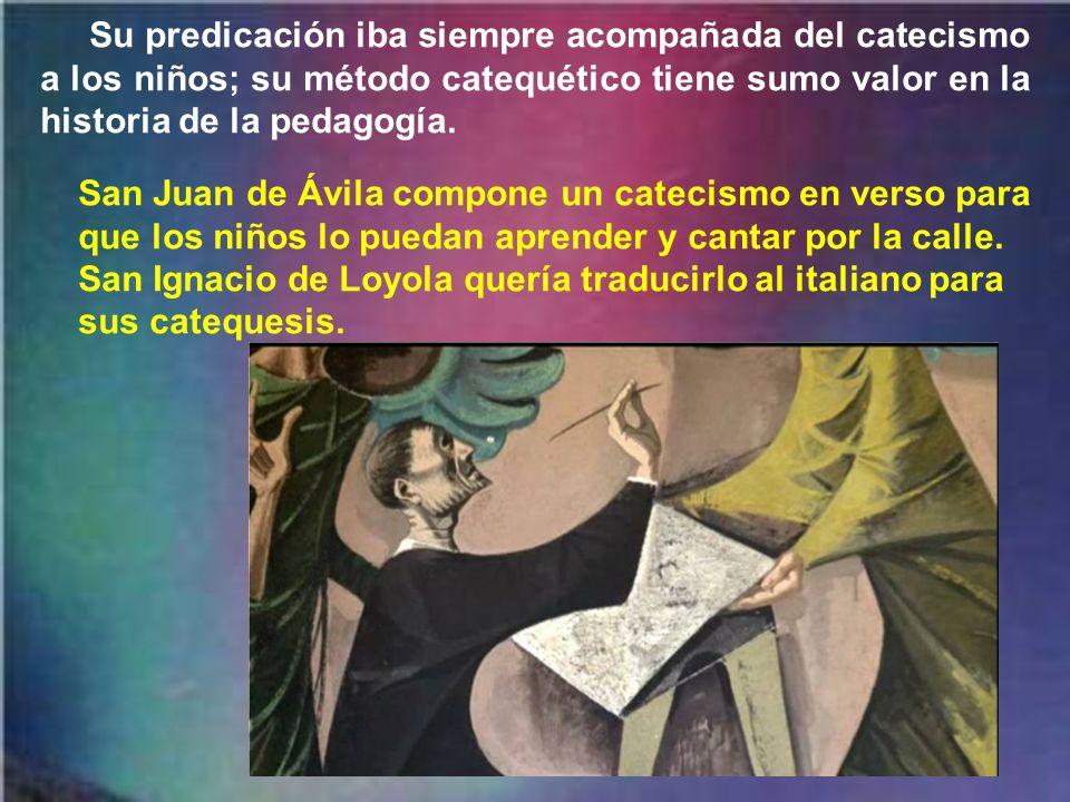 Una cruz grande de palo en su habitación de Montilla, la renuncia a las prebendas y obispados (el de Segovia y Granada), así como el capelo cardenalicio (ofrecido por Paulo III), son índice de su pobreza y humildad No renunció al episcopado por desprecio, sino por imitar al Señor y por sentirse indigno.