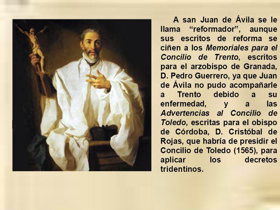 La Conferencia Episcopal Española pidió a la Santa Sede, con motivo del centenario del nacimiento de san Juan de Ávila, que sea declarado Doctor de la