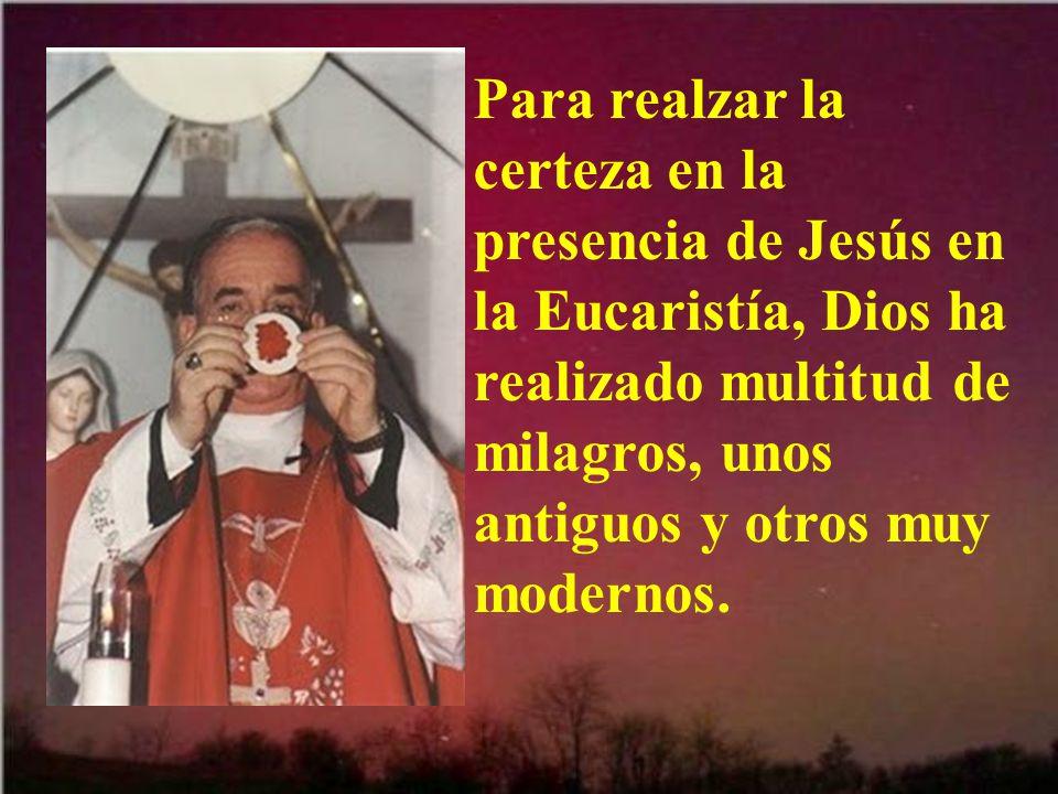 Desde antes del año 1000 hubo herejías que negaban la presencia de Jesús después de la misa.