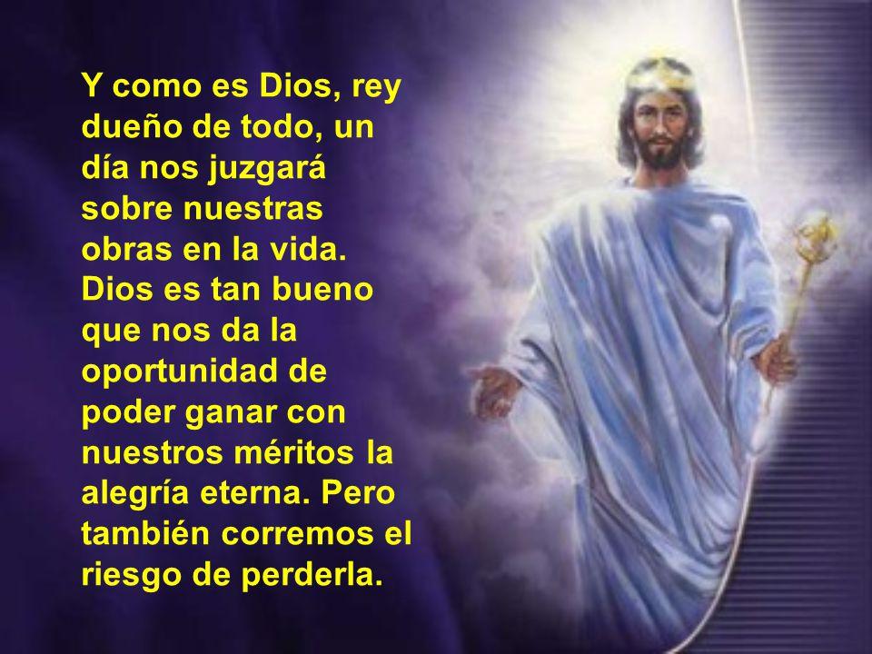 Cristo es nuestro rey, porque es el único que nos ama de una manera total.