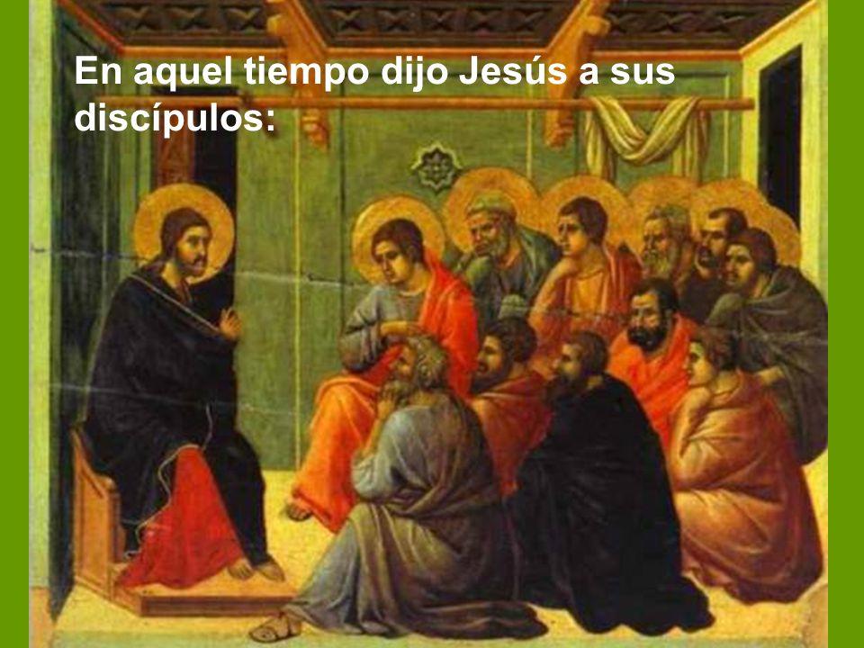 Nos lo proclama el evangelista san Mateo, como lo ha hecho en gran parte del ciclo A.