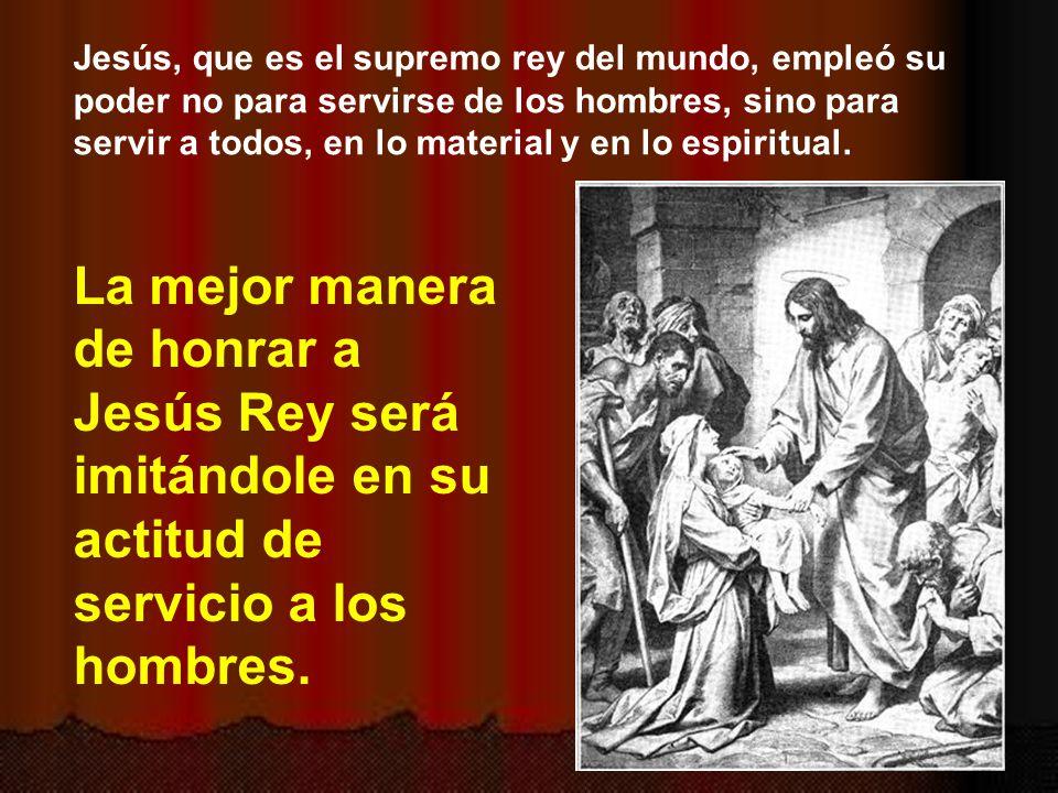 En el mundo hay muchas necesidades materiales y espirituales.