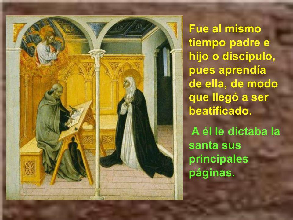 La santa había orado mucho tiempo para poder tener un buen confesor y director espiritual.
